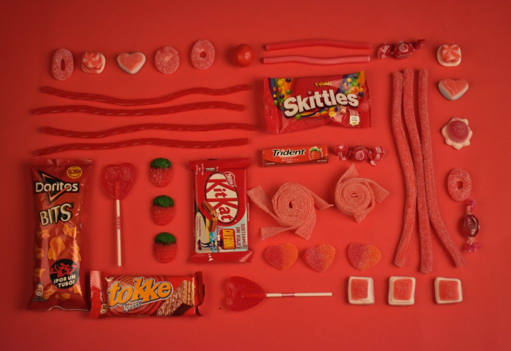 dulces con muchas grasas saturadas