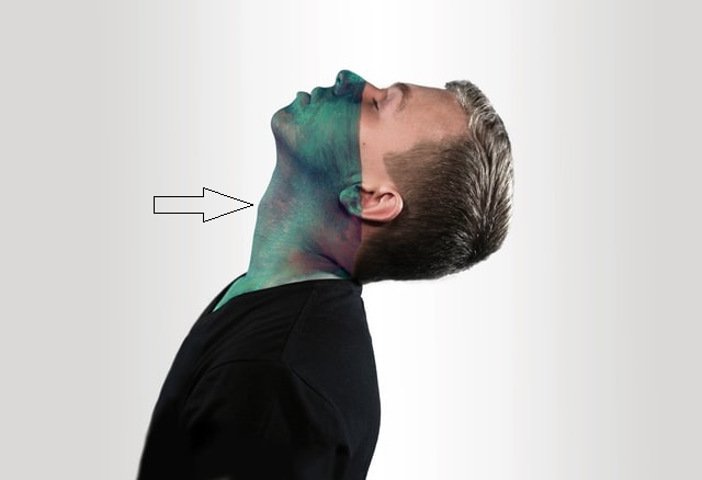 Cuello masculino